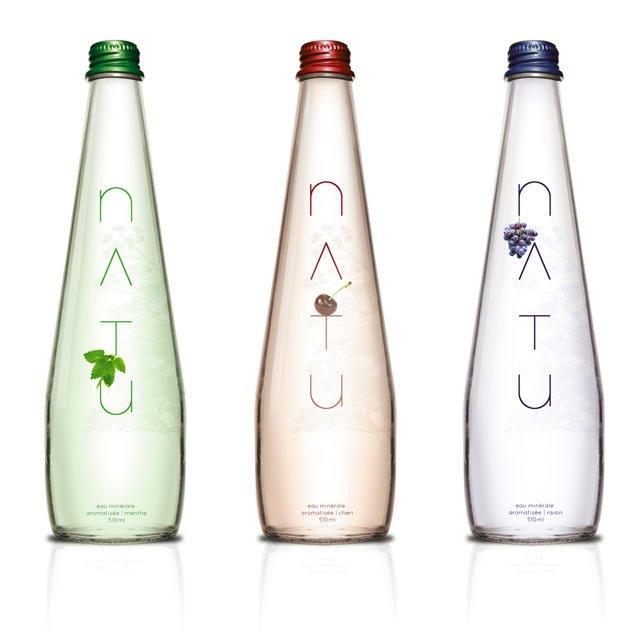 עיצוב בקבוק מים מינרליים