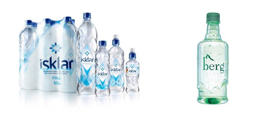 עיצוב בקבוק כקרחון